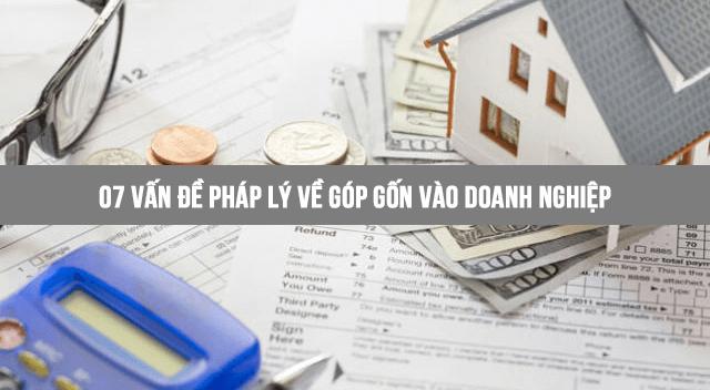 07 vấn đề pháp lý về góp vốn vào doanh nghiệp