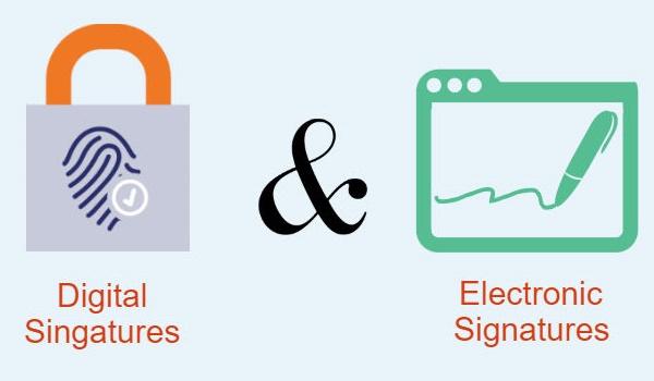 Khái niệm chữ ký điện tử và chữ ký số
