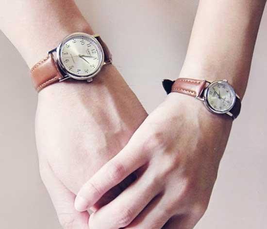 Đồng hồ đôi mang ý nghĩa gắn kết, trân trọng những khoảnh khắc bên nhau của cả hai