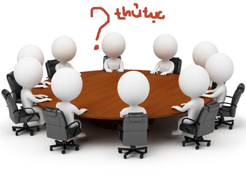 Quy trình thủ tục thành lập công ty